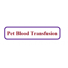 Pet Blood Transfusion Facility